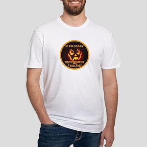 Halloween TEACHER Fitted T-Shirt