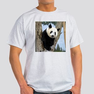 Giant Panda Bears Ash Grey T-Shirt