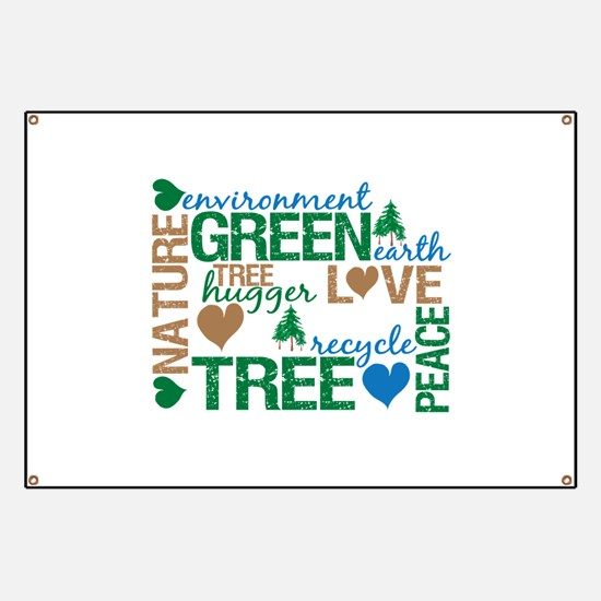 Live Green Montage Banner