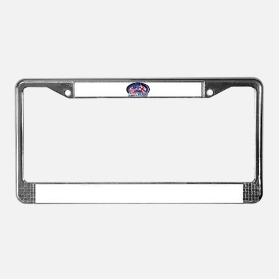 Unique Triumph License Plate Frame