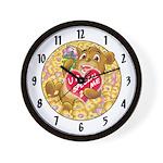 """Bailey's """"U R SPECIAL 2 ME"""" Wall Clock"""