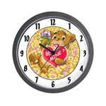 "Bailey's ""BE MINE ?"" Wall Clock"