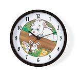 "Rodney's ""babysitting"" Wall Clock"