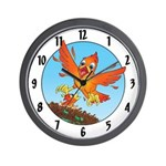 """Becky's """"new arrival"""" Wall Clock"""