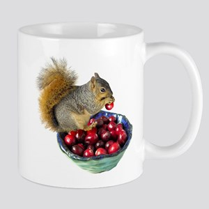 Squirrel with Cranberries Mug