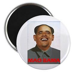 "MaoBama 2.25"" Magnet (100 pack)"