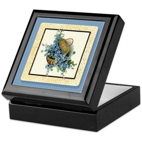 Forget-Me-Nots Keepsake Box