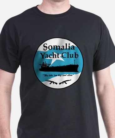 Somalia yacht club 1 T-Shirt