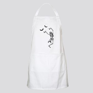 Dancing with the bats -skeleton Apron