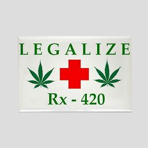 LEGALIZE RX-420 Rectangle Magnet