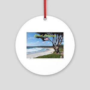 CARMEL CALIFORNIA USA Round Ornament