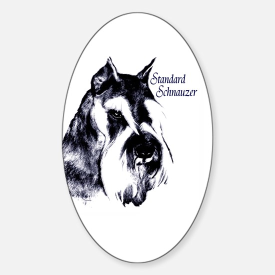 dog Oval Decal