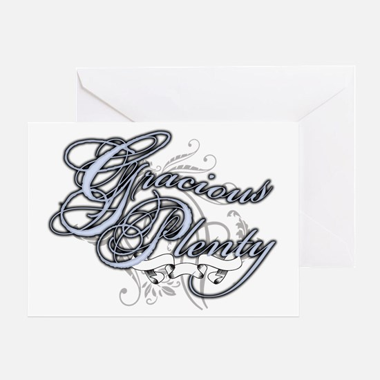 Gracious Plenty Greeting Card