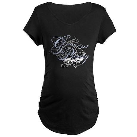 Gracious Plenty Maternity Dark T-Shirt