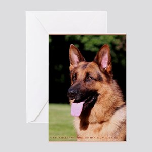Dog Art & Posters Greeting Card