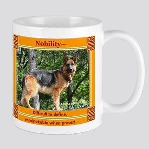 German Shepherd Type Mug