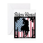 Riders Wanted Greeting Card