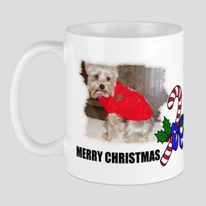 MERRY CHRISTMAS YORKSHIRE TERRIER Mug