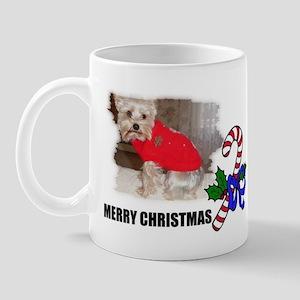 MERRY CHRISTMAS YORKSHIRE TERRIER Mug