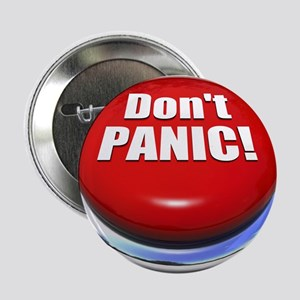 "Don't Panic 2.25"" Button"