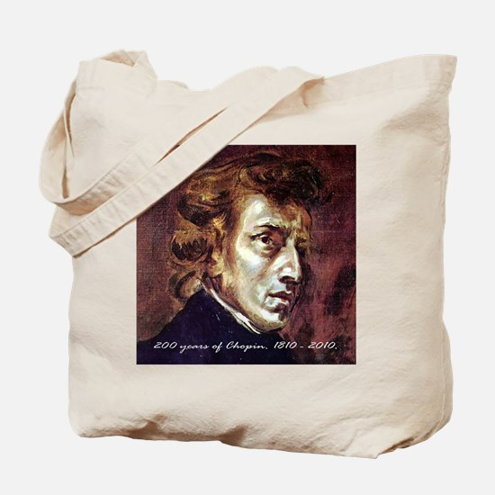200 years of Chopin 1810 to 2010. Tote Bag