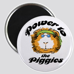 Power to the Piggies Magnet