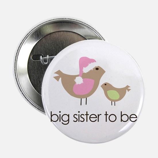 "birdie big sister to be christmas shirt 2.25"""