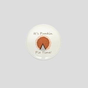 Punkin Pie Time Mini Button
