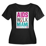AIDS Walk Miami Plus Size T-Shirt
