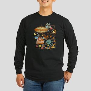 MODERN Long Sleeve Dark T-Shirt