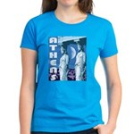 Women's Black or Turquoise Athens T-Shirt