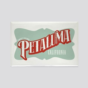 Sweet Home Petaluma Rectangle Magnet
