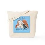 Peace Angel Bear Tote Bag