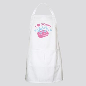 I Love Soap BBQ Apron