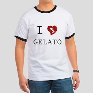 I Love Gelato Ringer T