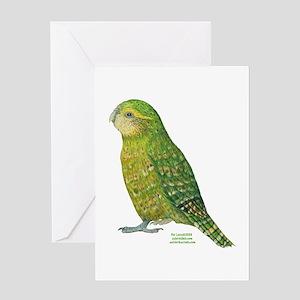 Kakapo Greeting Card