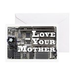 Love Your Mother (board) Greeting Card