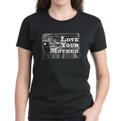 Love Your Mother (board) Women's Dark T-Shirt