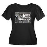 Love Your Mother (board) Women's Plus Size Scoop N
