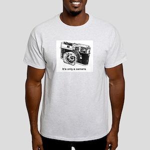 only_a_camera_logo_final T-Shirt