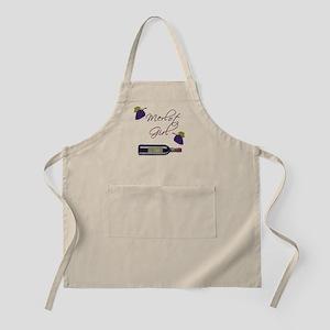 Merlot Girl BBQ Apron