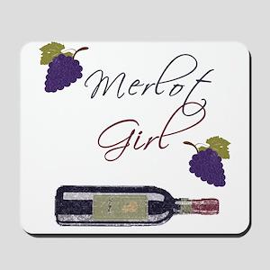 Merlot Girl Mousepad