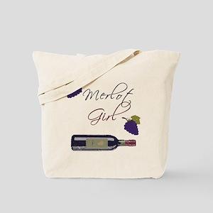 Merlot Girl Tote Bag