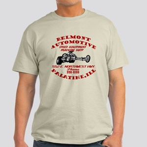 Belmont Automotive Speed Shop Light T-Shirt