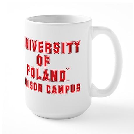 University of Poland - Madison Campus Large Mug