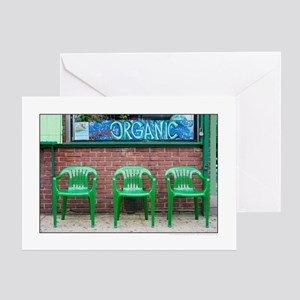 Living Organic on Avenue A Greeting Card