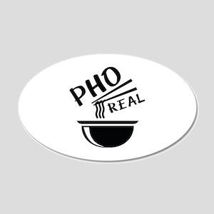 Pho Real 22x14 Oval Wall Peel