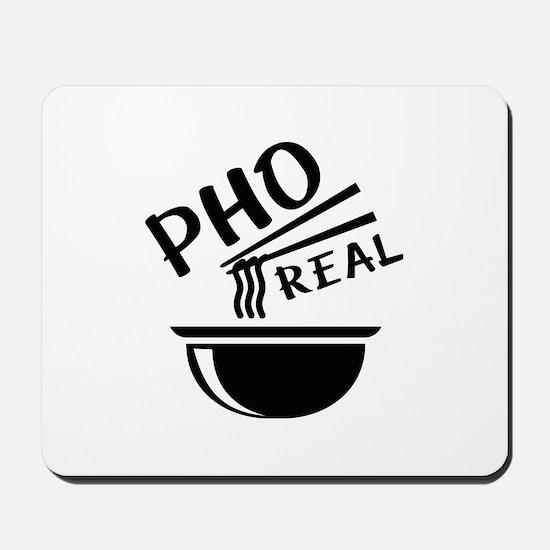 Pho Real Mousepad
