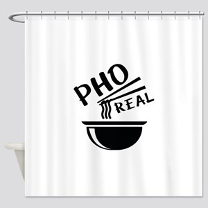 Pho Real Shower Curtain