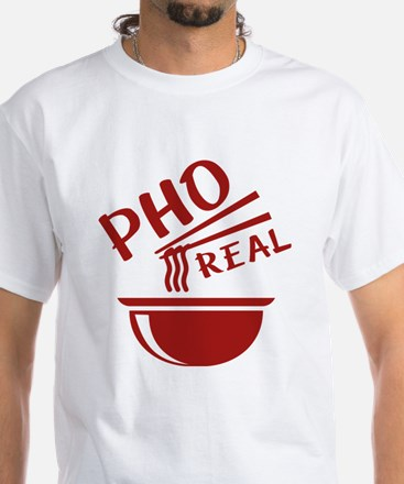 Pho Real White T-Shirt